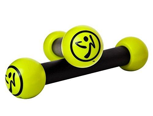 joka international GmbH Zumba Toning Sticks Gelb Zumba Rasseln Hanteln