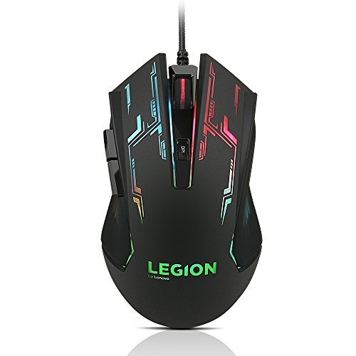 Lenovo Legion Y7000 9th gen Intel Core i5 15.6 inch FHD Gaming Laptop (8GB/1TB HDD+256 GB SSD/Windows 10/NVIDIA GTX 1050 3GB Graphics/Black/2.3Kg), 81V4000LIN with Gaming Mouse