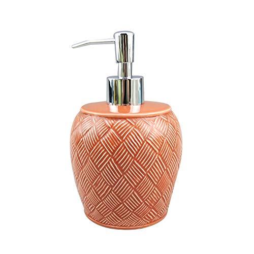 Soap Dispenser WYZQQ Zeepdispenser, pomp, emulsiedispenser, met pomp van kunststof, hoge druk, voor keukengootsteen, wastafel, badkamer - keramiek