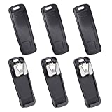 CLIP-20 Belt Clip for Vertex Standard EVX-530 EVX-531 EVX-534 EVX-539 VX-450 VX-451 VX-454 VX-459 Portable Radio 6 PCS
