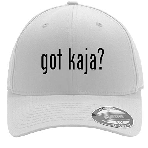 got kaja? - Adult Men's Flexfit Baseball Hat Cap, White, Small/Medium