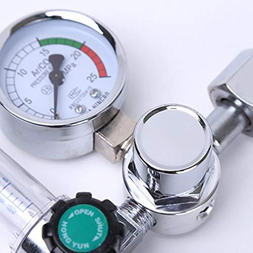 TAYDMEO Soldar la presión del Metro de Gas argón Regulador de Flujo de CO2 MIG mag Soldadura Indicador de argón regulador Reductor de presión