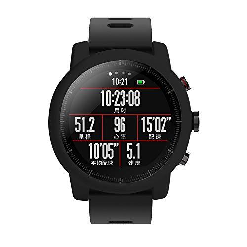 Saisiyiky Protector Case para Smartwatch Reloj, Suave TPU Pr