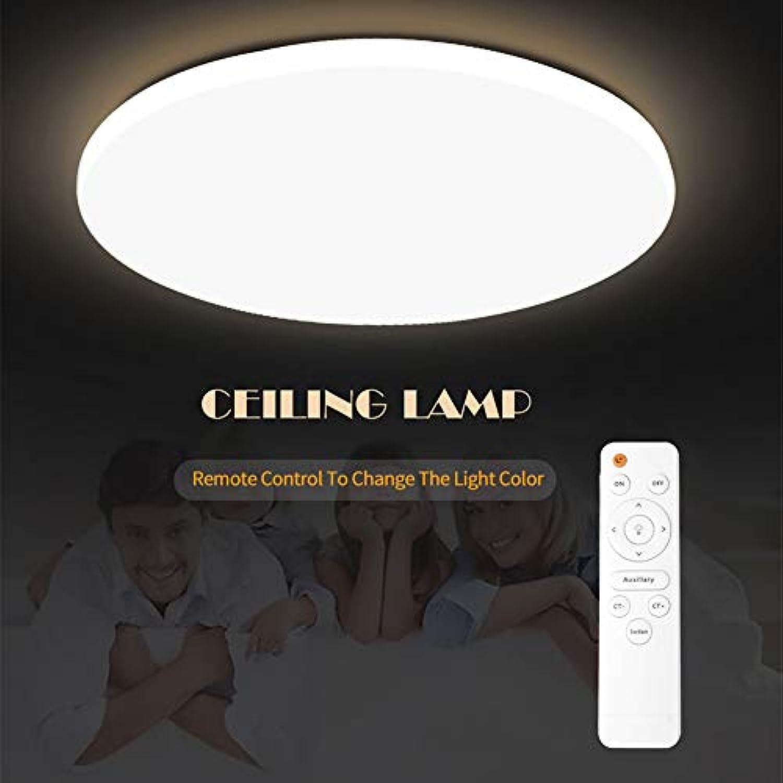 SHELLTB Moderne led deckenleuchte oberflchenmontage leuchte Wohnzimmer Schlafzimmer Bad Fernbedienung Dekoration küche,WarmWeiß,DIA40CM