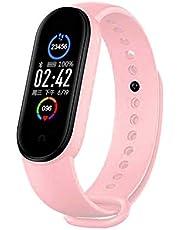 RHG M5 Smart Fitness Tracker Activiteitstracker Met Bloeddruk/Hartslagmeter 0. 96 Inch Multifunctionele Slimme Band Polsband Voor Sport
