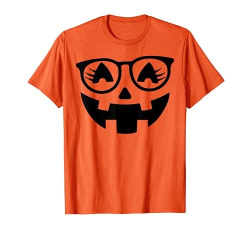 Disfraz de Halloween de calabaza para hombre, mujer, niños Camiseta