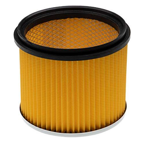 vhbw Filtro compatible con Lidl/Parkside PNTS 1400 F2, 1500 A1, 1500 B2, 1500 B3, 1500 C4 aspiradora filtro plisado