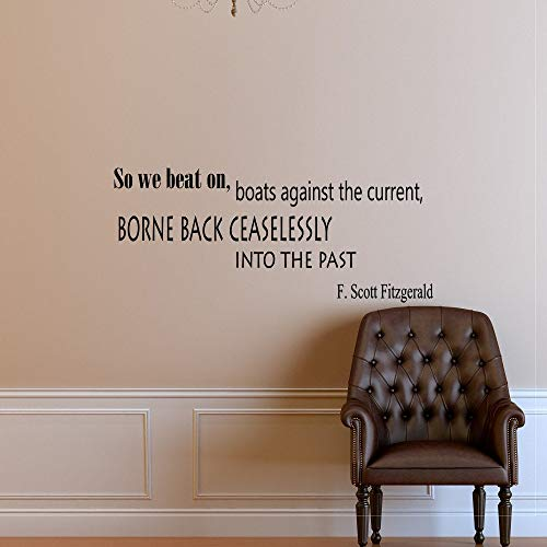Dozili vinilo adhesivo de pared con cita para decoración del hogar Art...