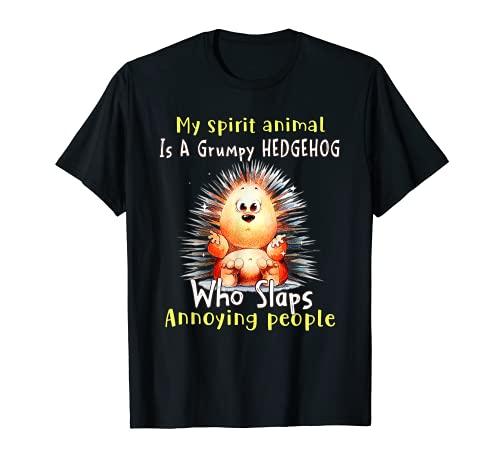 Mi espíritu animal es un erizo gruñón que golpea Camiseta