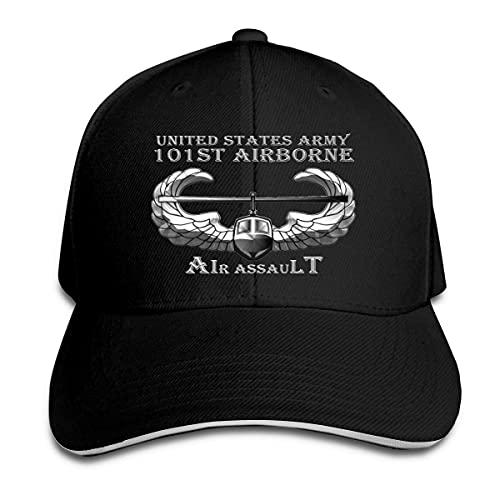 Sombrero Deportivo Ejército De Los EE. UU. 101 Asalto Aerotransportado Gorra De Béisbol Transpirable Hip Hop Sombreros para Viaje Hombre Regalos