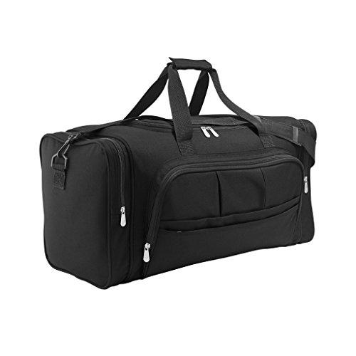 SOLS Weekend Holdall Travel Bag (ONE) (Black)