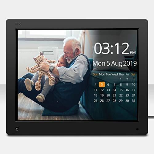 NIX Advance Marco Digital Fotos y Videos 15 Pulgadas. Calendario, Reloj. Auto on/Off. Rotación automática. 8GB USB Incluido