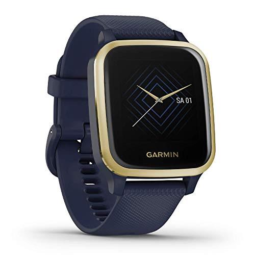 Garmin Venu Sq Music – wasserdichte GPS-Fitness-Smartwatch mit Musikplayer, 1,3