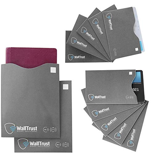 WallTrust® protectoras tarjetas RFID NFC   Protección