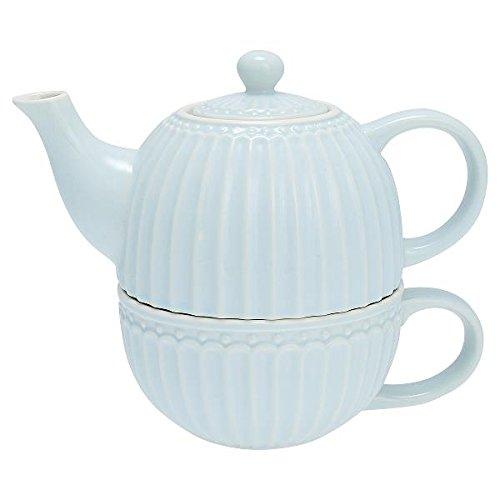 GreenGate- Tea for one- Alice Pale Blue- Teekanne/Tasse