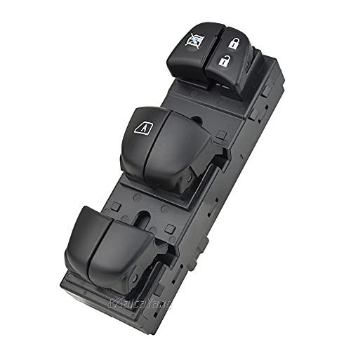 Interruptor de ventana 25401-6LA2A para Nissan Sylphy 2020 Interruptor maestro del Elevalunas eléctrica del lado izquierdo delantero