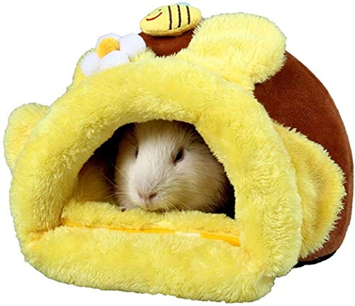 N\A Cute Home Warm Cotton Hamsters Beds Hamster Houses Hamster Nest Beds for Small Animals Pet Supplies (Color : -, Size : -)