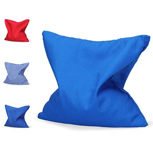 Coussin noyaux de cerise/ oreiller chauffant en 100% coton - 20x20 cm - pour micro-onde