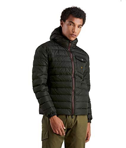 Refrigiwear Hunter Jacket, Giacca Sportiva Uomo, Verde (Mustang E03440), Small (Taglia Produttore:S)