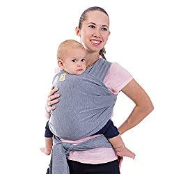 KeaBabies Baby Wrap Carrier For Plus Size Mom