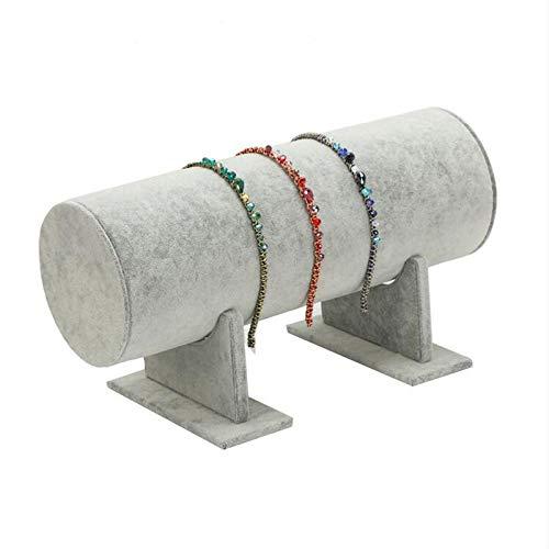 lefeindgdi Soporte para diadema, organizador de tocado de horquilla para el pelo, organizador de joyas, soporte para joyas, soporte para accesorios decorativos de 11 x 30 cm