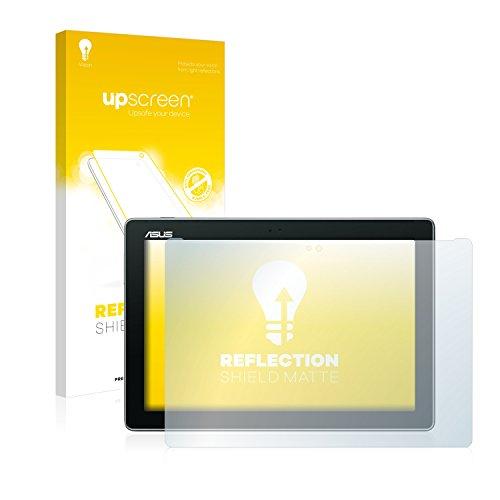 upscreen Entspiegelungs-Schutzfolie kompatibel mit Asus ZenPad 10 Z300M – Anti-Reflex Bildschirmschutz-Folie Matt