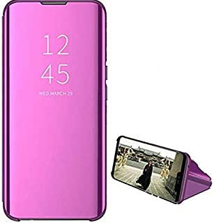 Clear View Front and Back For Samsung Galaxy Note 10 Lite Without Sensor - Purple