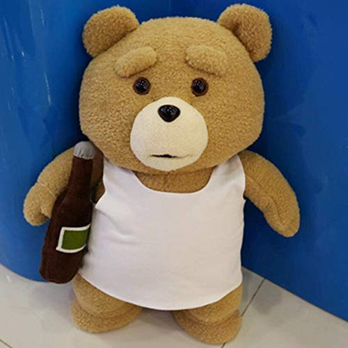 8 Styles Movie Teddy Bear Ted 2 Plush Toys in Apron Soft Stuffed...