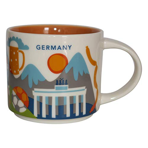 Starbucks City Mug You Are Here Collection Germany Deutschland Kaffeetasse Coffee Cup