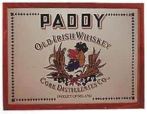 Paddy Irish Whiskey Small Mirror