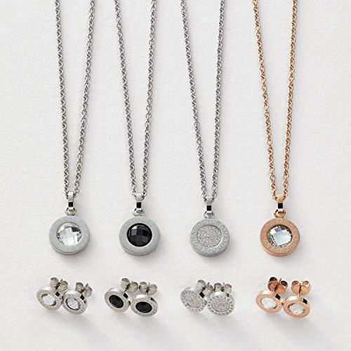 Jewels by Leonardo 011252 Ohrstecker klar Matrix