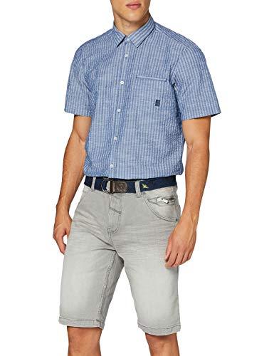 LERROS Herren Bermuda Denim Shorts, Grau (Cement Grey 272), W(Herstellergröße:36)
