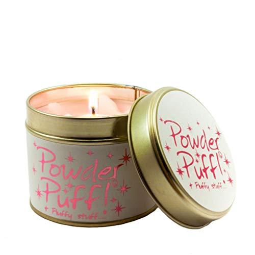 Lily Flame Powder Puff! Candela di latta