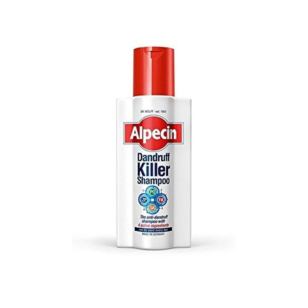 名前不純ブロックするAlpecin Dandruff Killer Shampoo (250ml) (Pack of 6) - フケキラーシャンプー(250ミリリットル) x6 [並行輸入品]