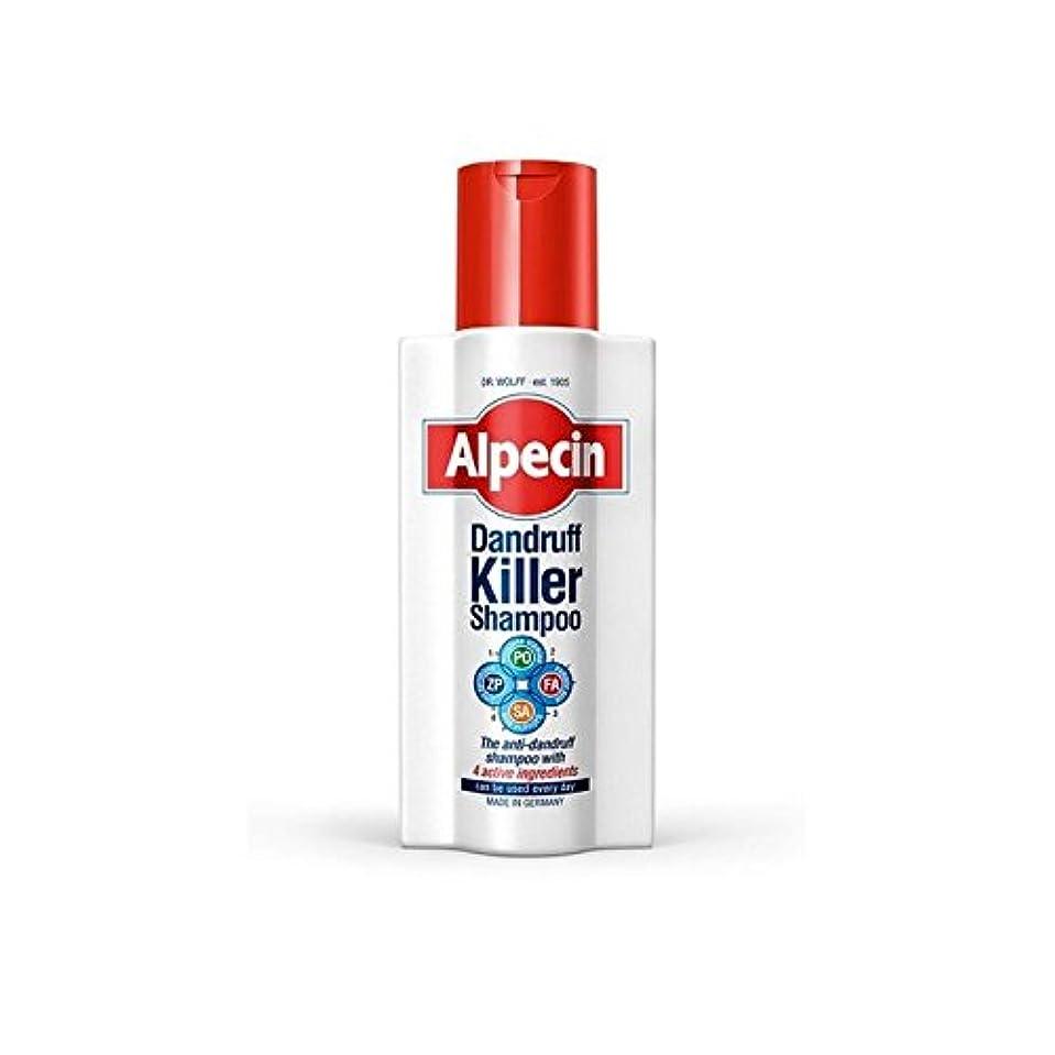 森感嘆符宣伝Alpecin Dandruff Killer Shampoo (250ml) (Pack of 6) - フケキラーシャンプー(250ミリリットル) x6 [並行輸入品]