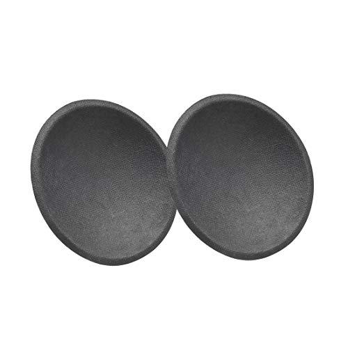 uxcell Speaker Dust Cap 40mm/1.5 inches Diameter Subwoofer Paper Dome Coil Cover Caps 2 Pcs