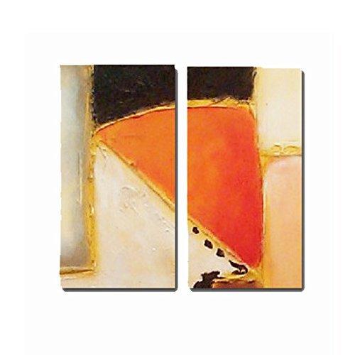 Pintura moderna – diptico, medidas 2(110x50)cm