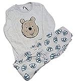 Conjunto de pijama para mujer, diseño de Winnie The Pooh, mangas completas, ropa de dormir, ropa de noche navideña, regalo nuevo