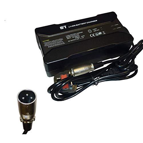 Powatechnic Cargador de batería de Litio 36V-42V 5A para Bicicletas eléctricas, Scooters, sillas de Ruedas y más! (XLR 3 Pin)