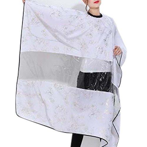 Coupe de cheveux tablier coiffure robe en tissu Wrap Protect Hair Design coupe de cheveux Cap