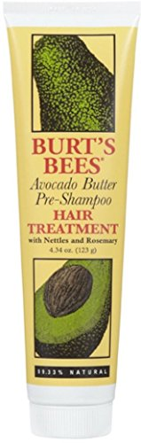 Burt's Bees Avocado Butter Pre-Shampoo Hair Treatment 4.34 oz (Pack of 3)