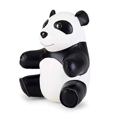 Züny – Fermalibri – Panda – Bianco, Nero – 13,5 x 16,5 x 21,5 cm