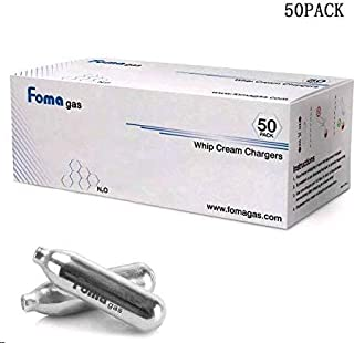 FOMA GAS Whipped Cream Chargers (50 PACK)