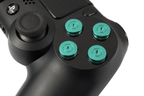GAMINGER Balas hechas de Aluminio Botones para Sony PlayStation 4 DualShock Control...