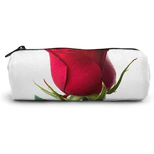 Federmäppchen Red Rose Psd School Stifttasche Reißverschluss Nette Schminktasche Kosmetische Aufbewahrungstasche Halter Box Organizer