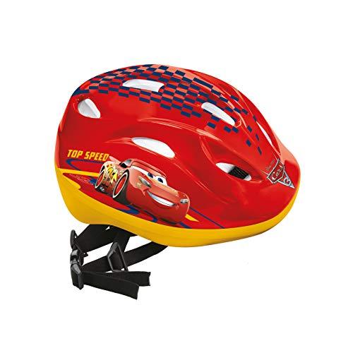 Mondo- Cars Helmet Caschetto Protezione, Multicolore, 52-56, 28103