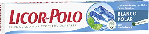Licor del Polo Dentífrico Blanco Polar - 12 tubos de 75 ml (Total: 900 ml)