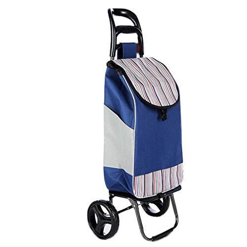 Trolley portátil del hogar, supermercado Plegable Compras, Ancianos Compra de Alimentos for...