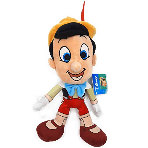 PTS - Plüschtier Pinocchio Handpuppe aus Holz Original Disney - 30 cm