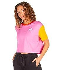 Nike Sportswear Camiseta Corta Rosa para Mujer - BV7155-610